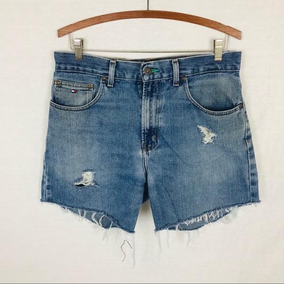 Tommy Hilfiger Pants - Vintage Tommy Hilfiger cut off high rise shorts 31